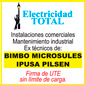 ICONO COMERCIO ELECTRICIDAD TOTAL de TECNICO REDES en ARROYO SECO