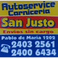 ICONO COMERCIO SAN JUSTO de PAMPLONAS en AGUADA