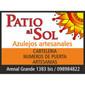 ICONO COMERCIO PATIO AL SOL de ARTESANIAS EN AZULEJOS en TODO EL PAIS