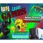 ICONO COMERCIO RAYO LASER GAMES de MOUSES en AIRES PUROS