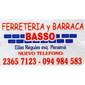 ICONO COMERCIO BASSO FERRETERIA Y BARRACA de ALAMBRES ESMALTADOS en LAS PIEDRAS