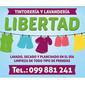 ICONO COMERCIO LIBERTAD TINTORERIA Y LAVANDERIA de TAPIZADOS en TODO EL PAIS