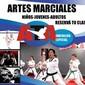 ICONO COMERCIO ARTES MARCIALES UNION de CLASES TAEKWONDO en BOLIVAR