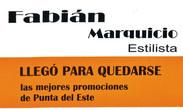 IMAGEN PROMOCIÓN FABIÁN MARQUICIO ESTILISTA
