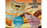 IMAGEN PROMOCIÓN EMPANADAS DE LA COSTA