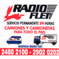 ICONO COMERCIO RADIO FLET de FLETES en BRAZO ORIENTAL