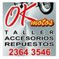 OK MOTOS de ACCESORIOS MOTOS en TODO EL PAIS