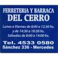ICONO COMERCIO FERRETERIA DEL CERRO de ESCALERAS METALICAS en MERCEDES