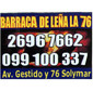 ICONO COMERCIO BARRACA DE LEÑA 76  en SOLYMAR