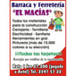 BARRACA Y FERRETERIA  EL MACIAS