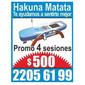 ICONO COMERCIO HAKUNA MATATA MASAJES de MASAJES TERAPEUTICOS en BELLA VISTA