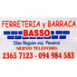 BASSO FERRETERIA Y BARRACA