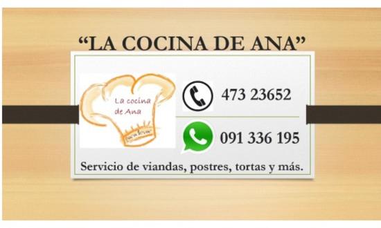 La Cocina De Ana | Viandas A Domicilio La Cocina De Ana En Salto Guia Movil 1122