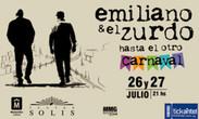 IMAGEN PROMOCION CLUB EL PAÍS - EMILIANO Y EL ZURDO - TEATRO SOLÍS