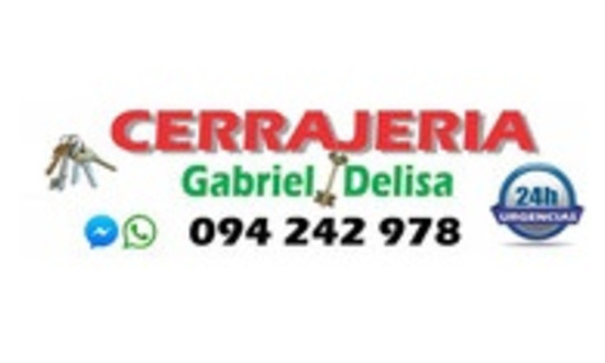 IMAGEN PROMOCIÓN CERRAJERÍA GABRIEL DELISA