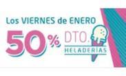 50% en Heladerías