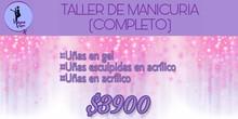 TALLER DE MANICURA COMPLETO